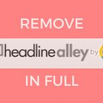 remove headlinealley nasty extenson by mayway senssorstechforum guide