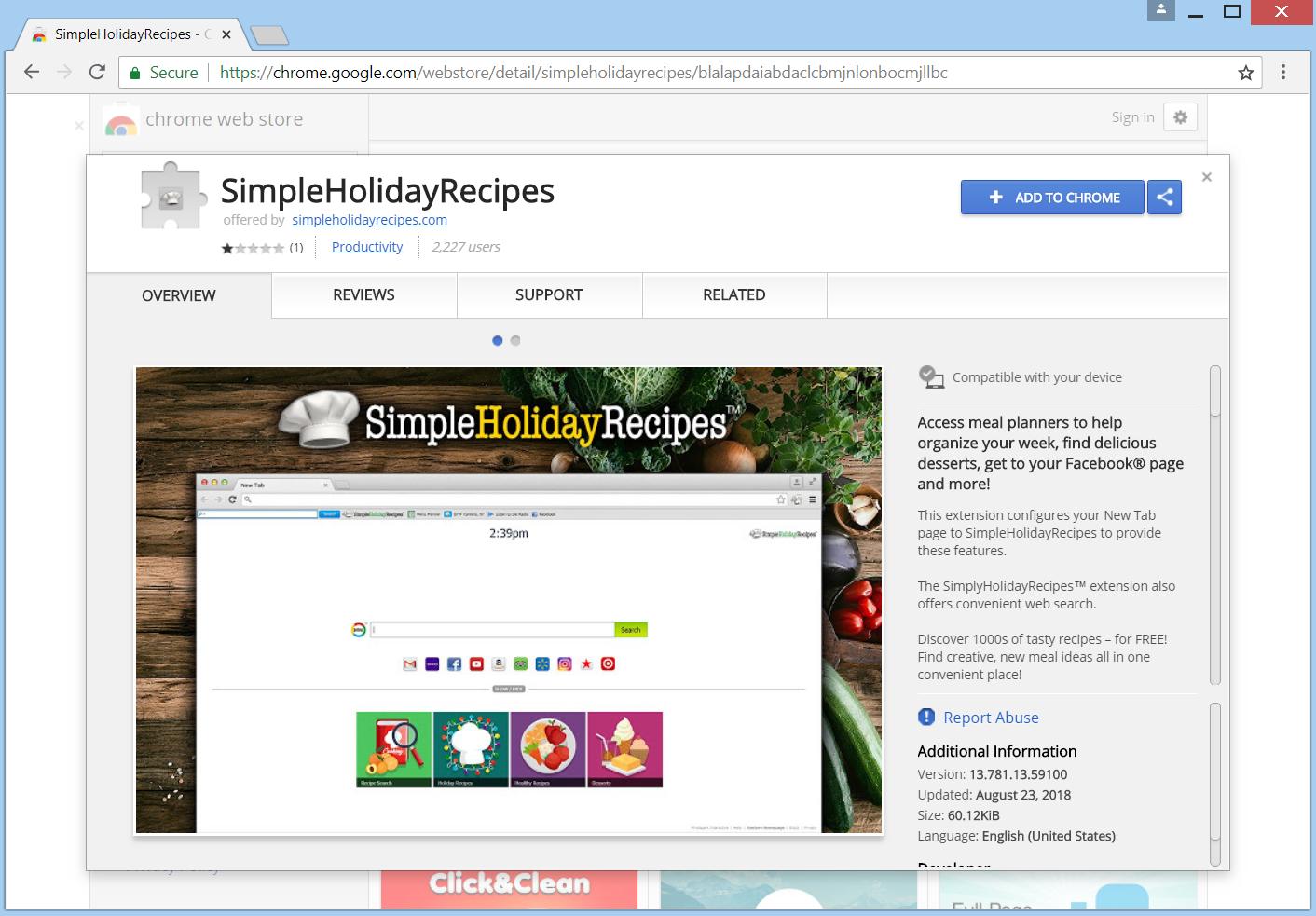 Browsec google chrome web store