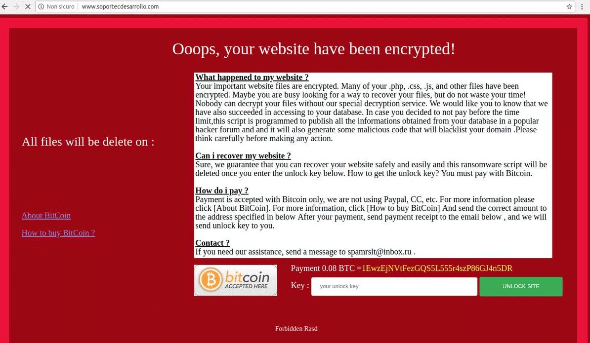 Retire Prohibida Rasd ransomware - Restaurar archivos cifrados