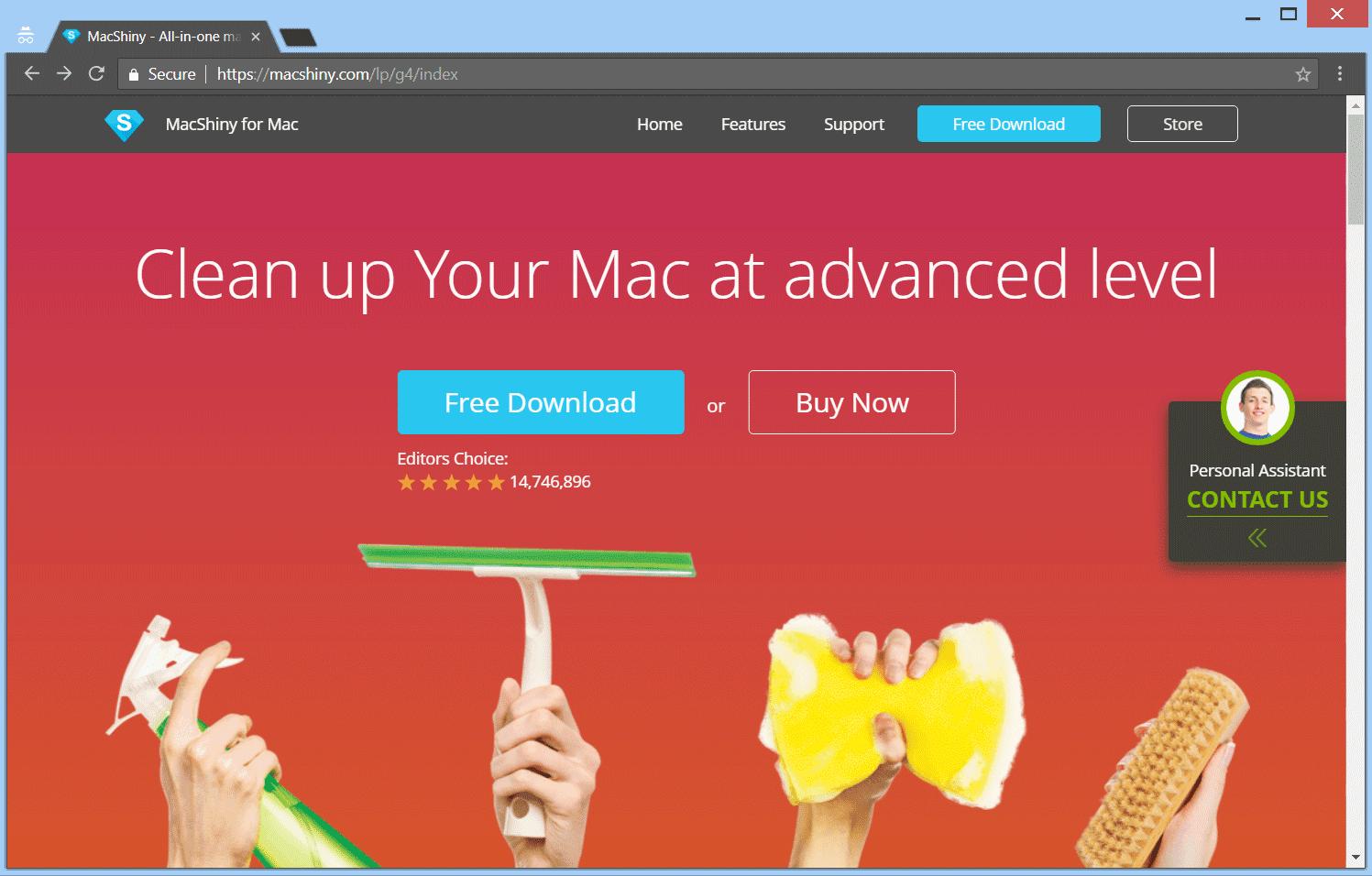 Remove MacShiny PUP