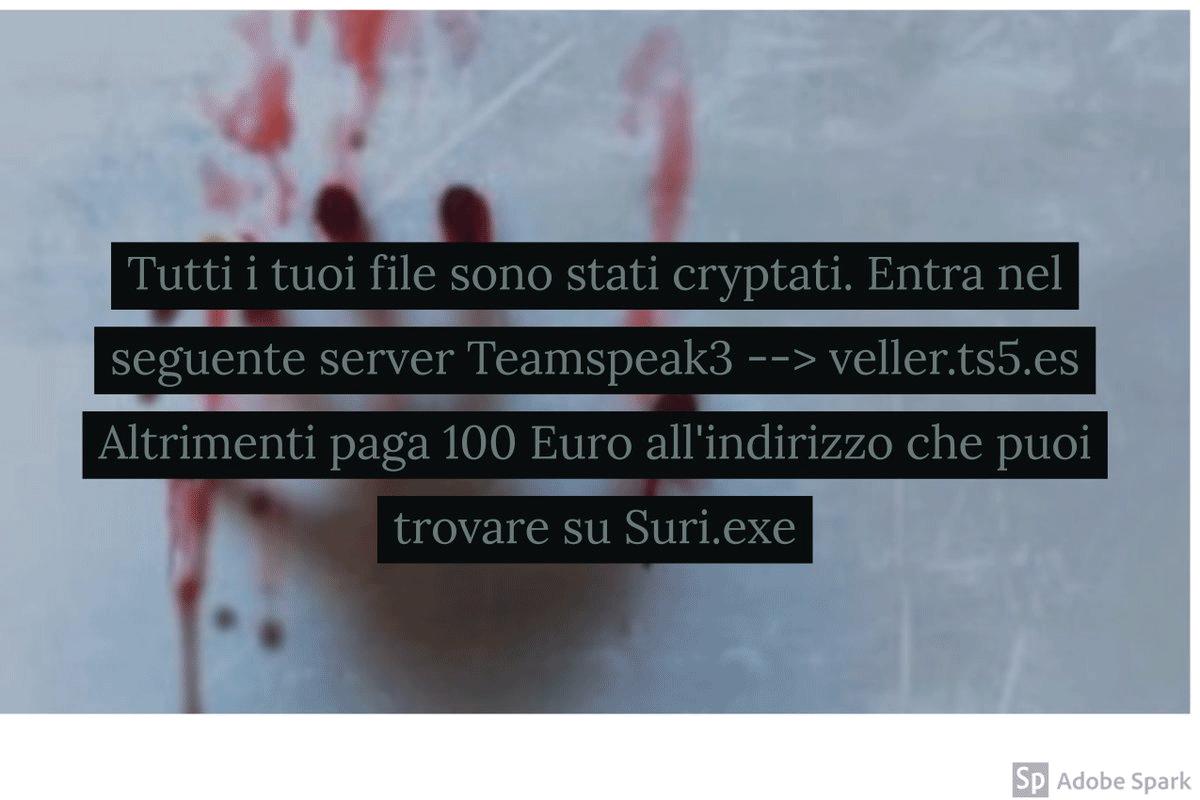 Retire Suri ransomware - Restaurar archivos .SLAV