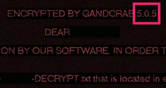 GANDCRAB 5.0.5 Ransomware - How to Remove It (+Restore Files)