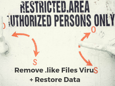 Remover .like Files Virus Dharama ransomware Restaurar dados
