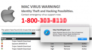 """?Call Apple Support"""" Mac Scam - How to Remove It"""