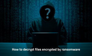 Ransomware Decryptor Programs - How to Decrypt Encrypted Files