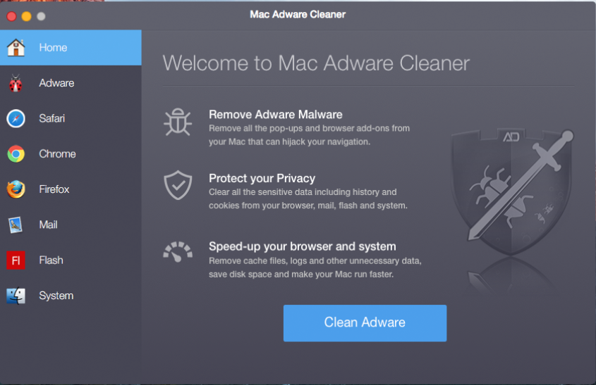 mac adware cleaner rogue program mac interface sensorstechforum