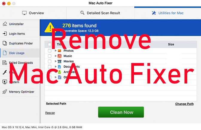 Mac Auto Fixer Virus - WHAT IS IT + How to Remove (Update Dec. 2019)