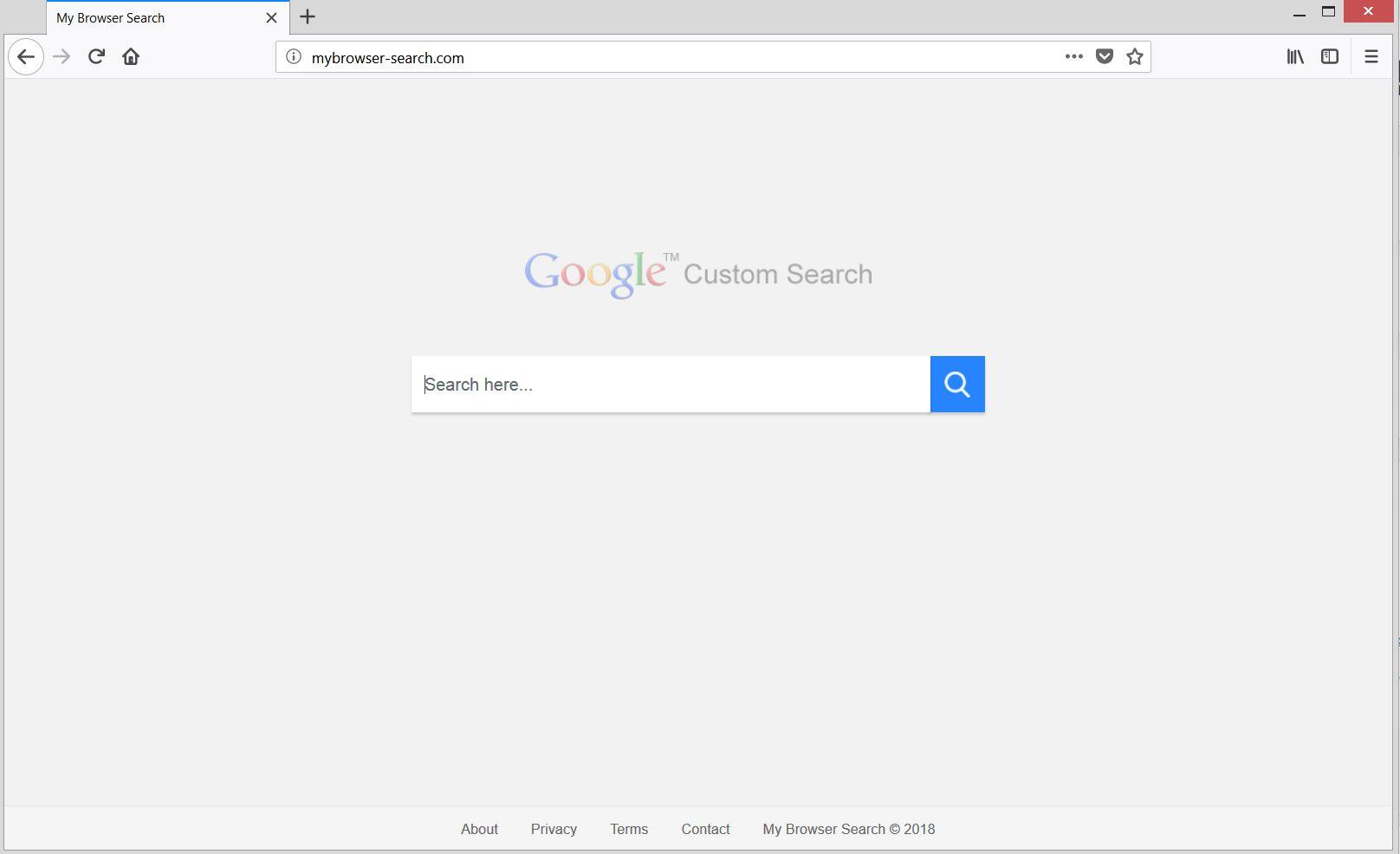 mybrowser-search.com pirate de l'air principal guide d'enlèvement de sensorstechfroum page