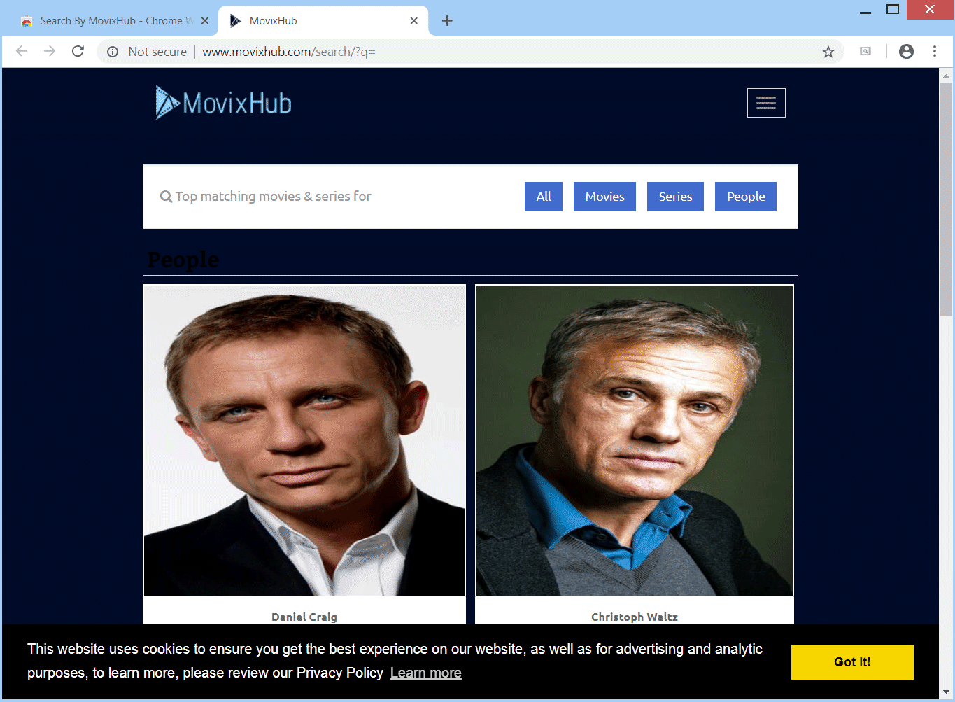 Remove MovixHub Browser Hijacker