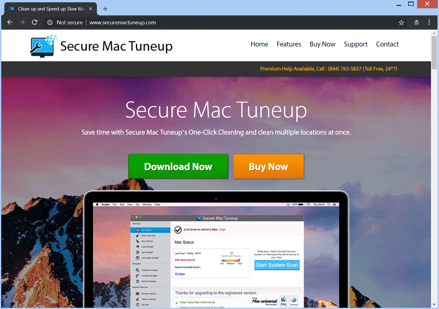 Retire Secure PUP Mac Tuneup