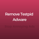 How to Remove Testpid Ads and stop ads sensorechforum