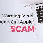 Warning Virus Alert Call Apple Mac scam how to remove it sensorstechforum