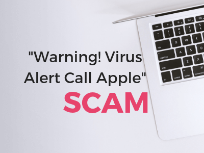 Warning Virus Alert Call Apple Mac scam remove it sensorstechforum