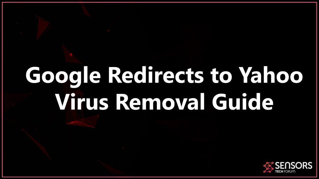 redirection de Google vers Yahoo