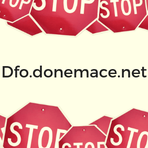 remove Dfo.donemace.net redirect sensorstechforum guide