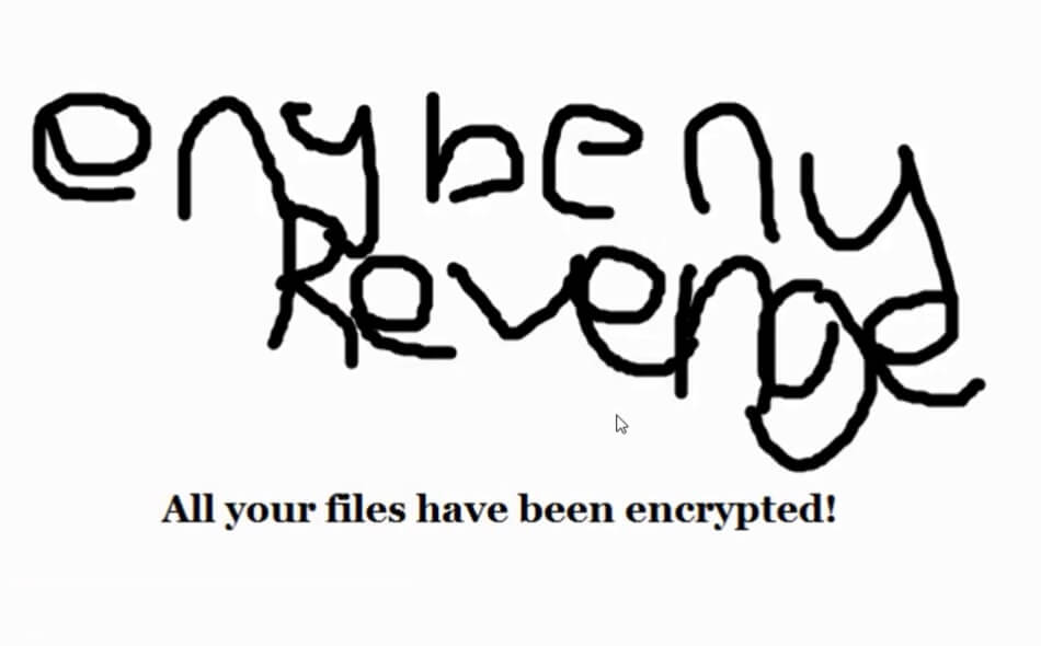 enybeny hævn ransomware enybenied filer virus desktop tapet