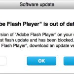 fake flash player update pop-up