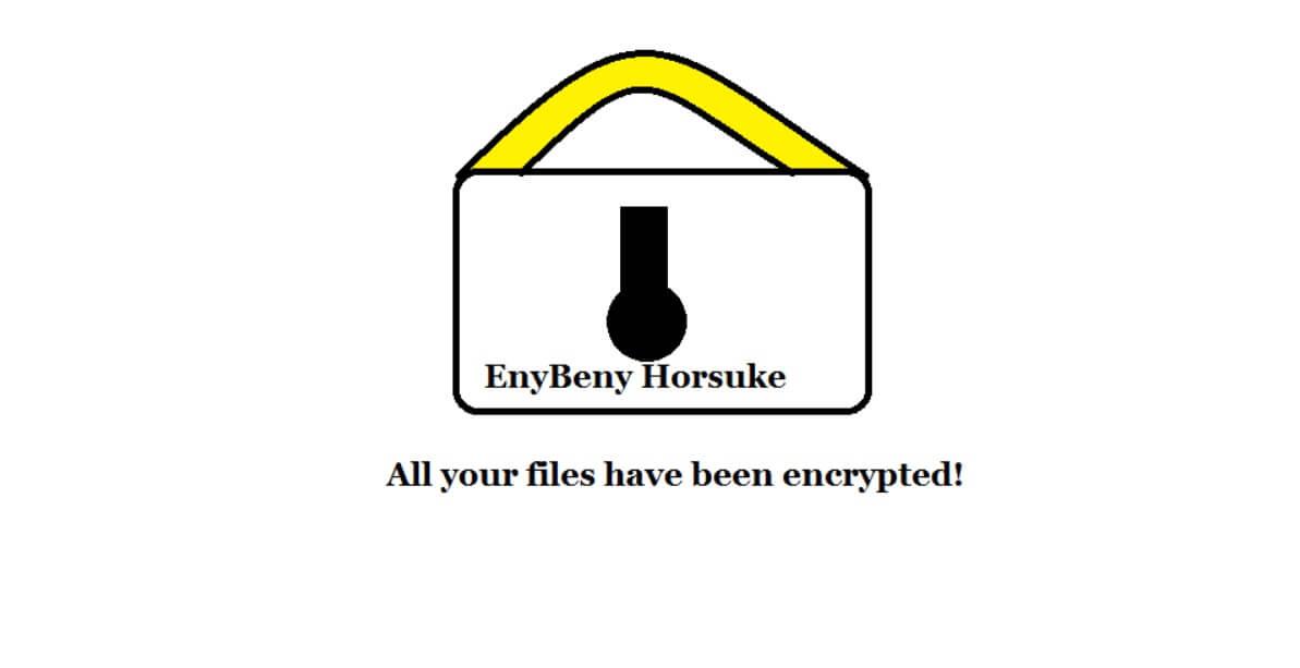horsuke ransomware virus enybeny variant desktop wallpaper