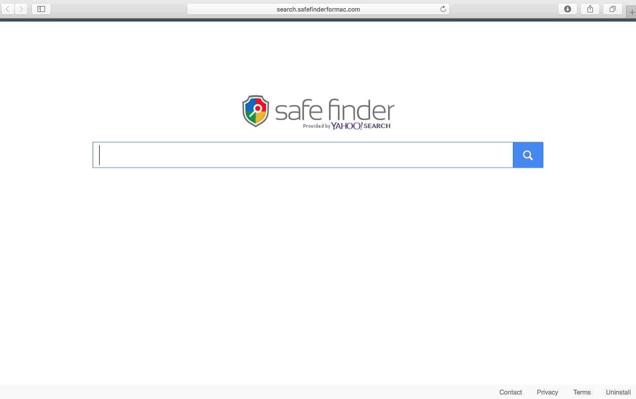 safefinder site main web page