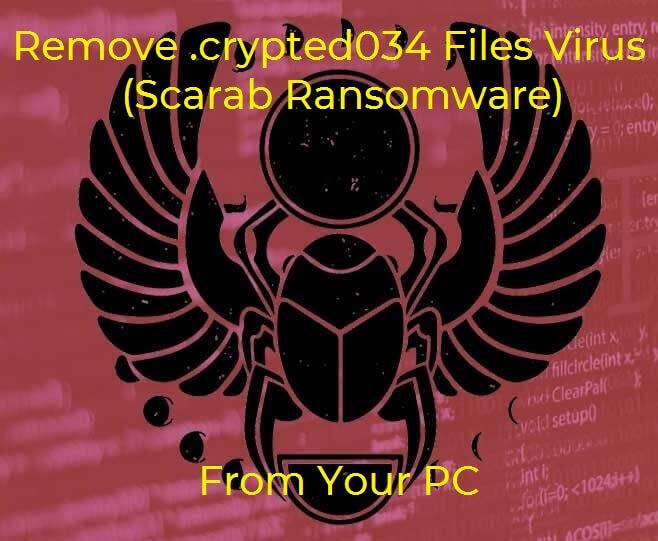 skarabæ crypted034 ransomware skarabæ billedtekst