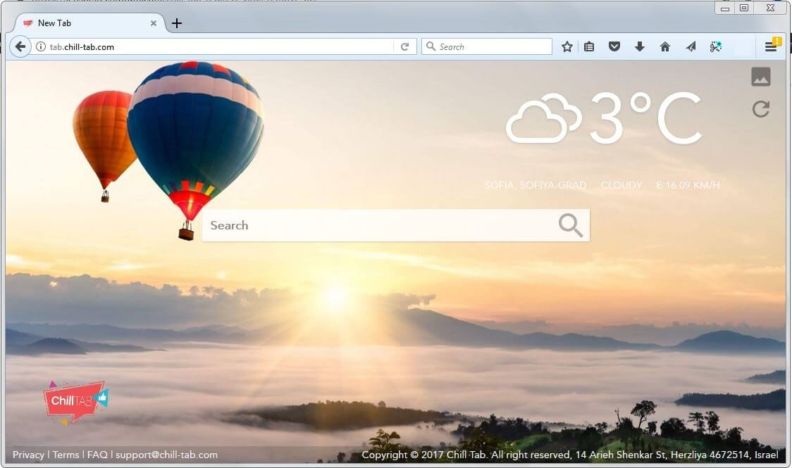 tab.chill-tab.com browser hijacker mac fjernelse guide sensorstechforum