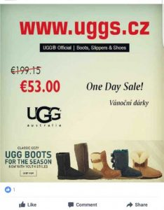 UGG Facebook Scam Virus - How to Remove It