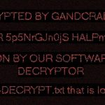 GandCrab 5.0.8 ransomware virus desktop