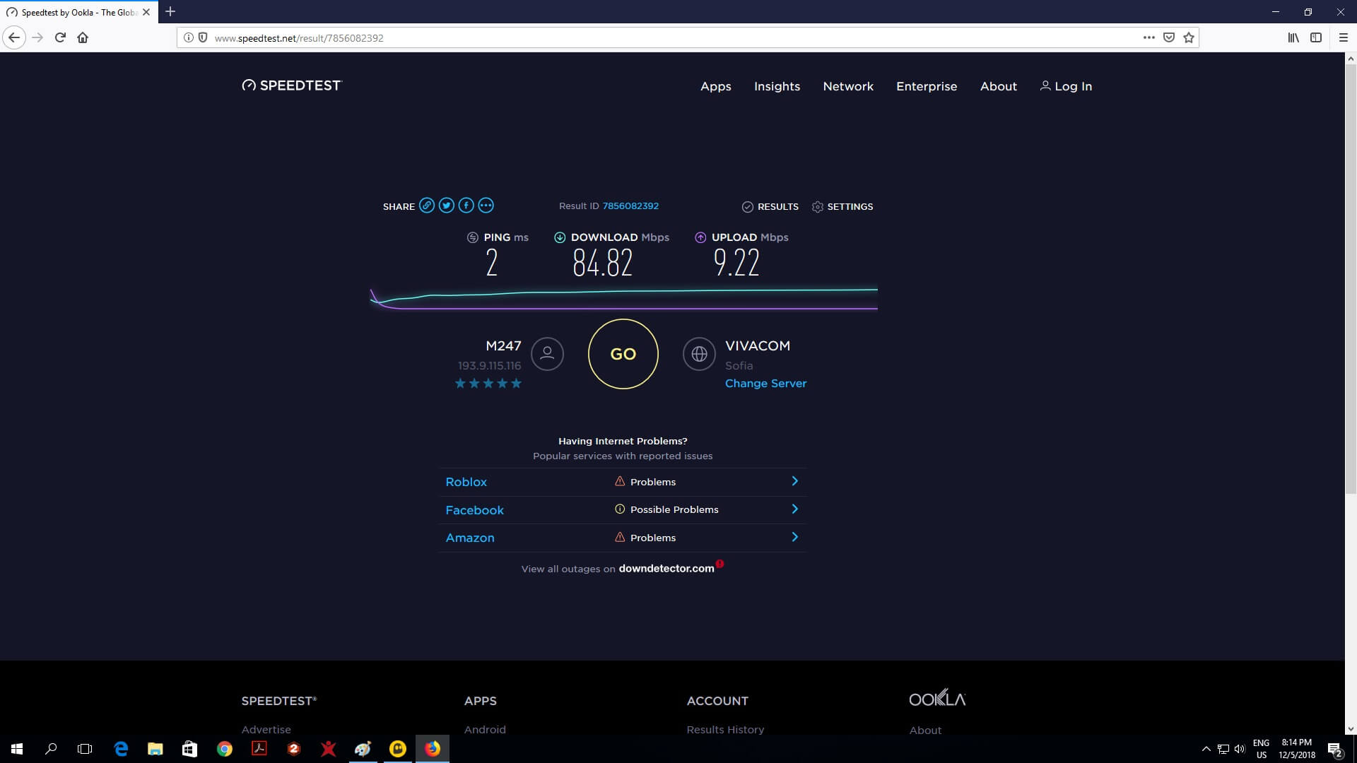 cyberghost vpn review connection bg server