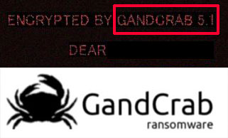 GANDCRAB 5.1 (v5.1) Ransomware Virus - Remove + Decrypt It