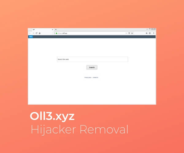 remove oll3 xyz browser hijacker sensorstechforum guide