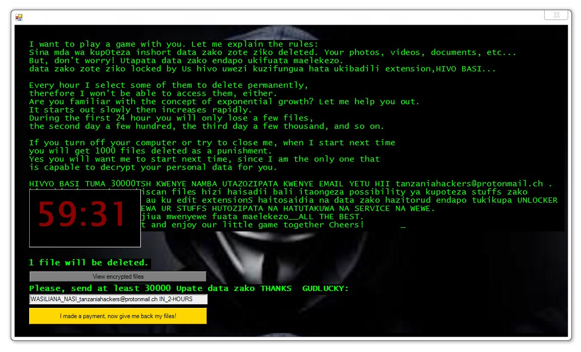 locked_by_mR_Anonymous(TZ_HACKERS) Files Virus - Remove