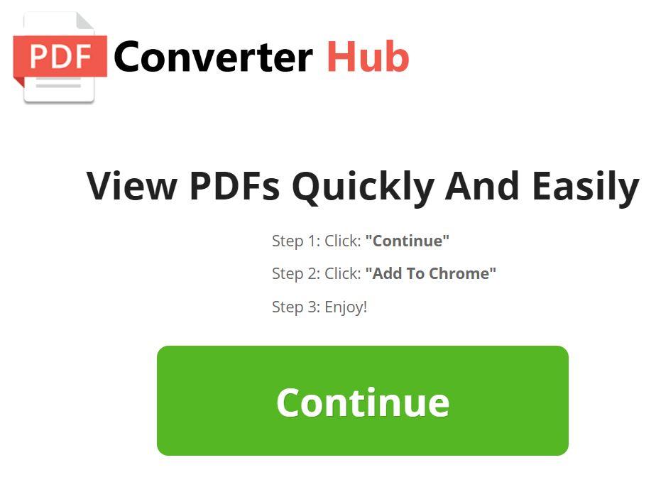 "PDF Converter Hub ""Virus"" – How to Remove It"