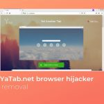 remove yatab net browser hijacker sensorstechforum guide