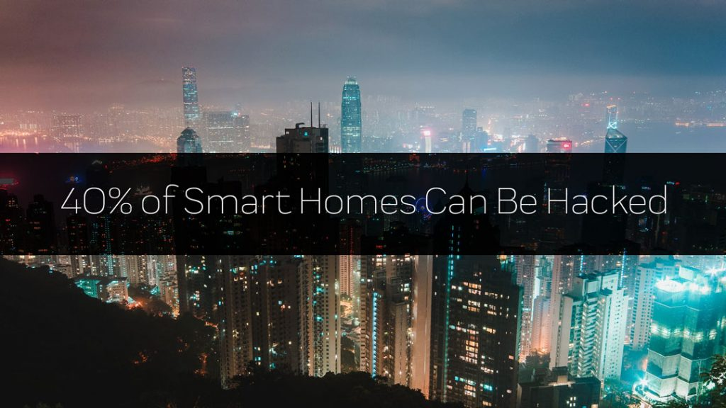 40% of Smart Homes Currently Vulnerable to Hacking