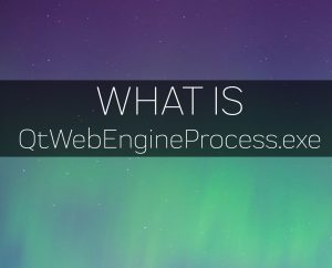 QtWebEngineProcess.exe virus process