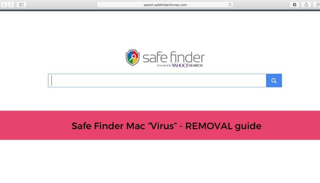 SAFE FINDER mac virus removal guide