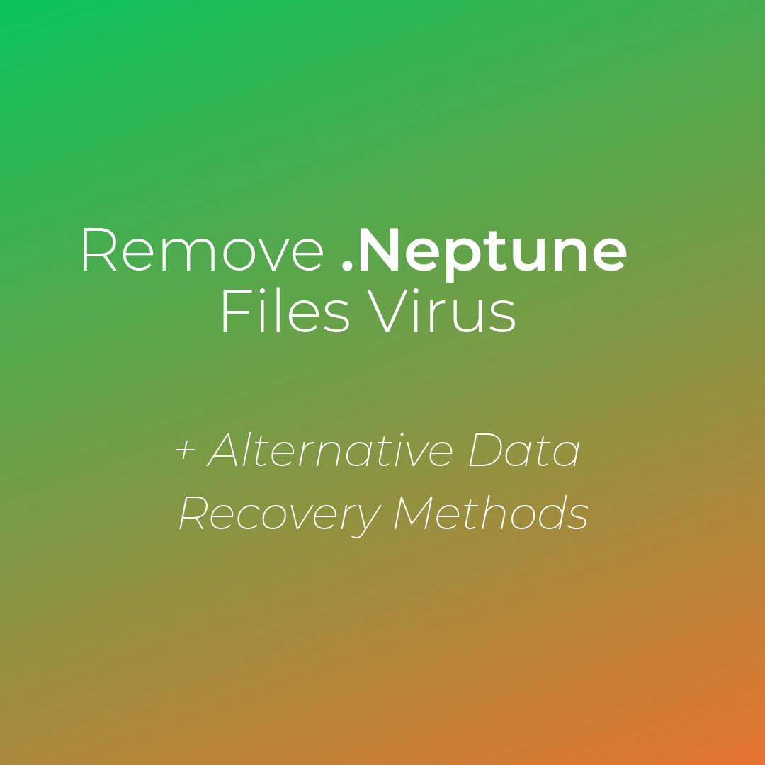 fjerne .Neptune ransomware sensorstechforum guide