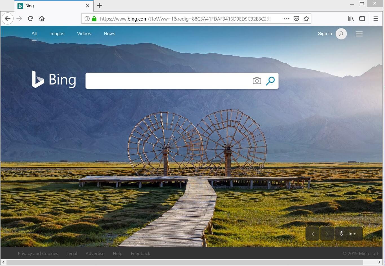 remove bing.com redirect virus sensorstechforum guide