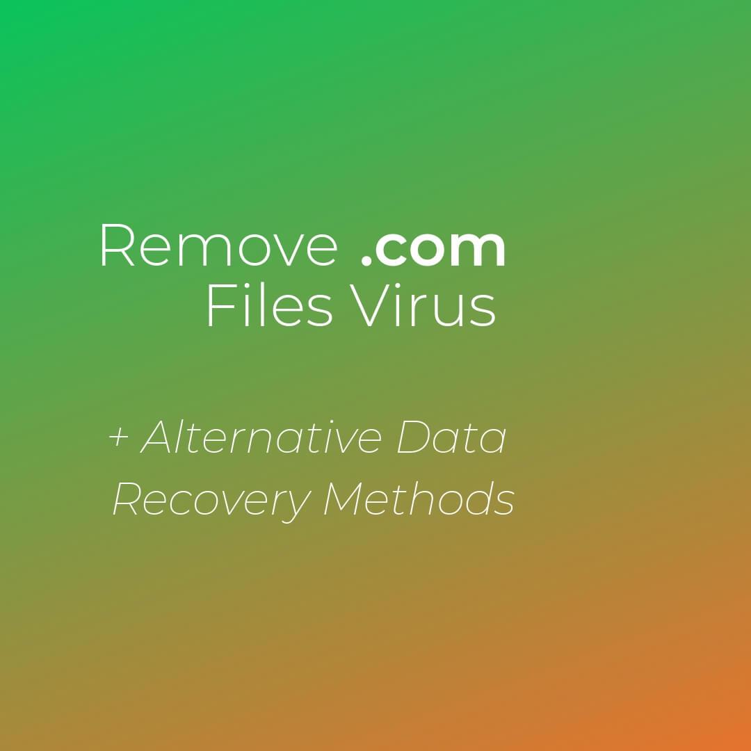 remove com files virus dharma ransomware sensorstechforum guide