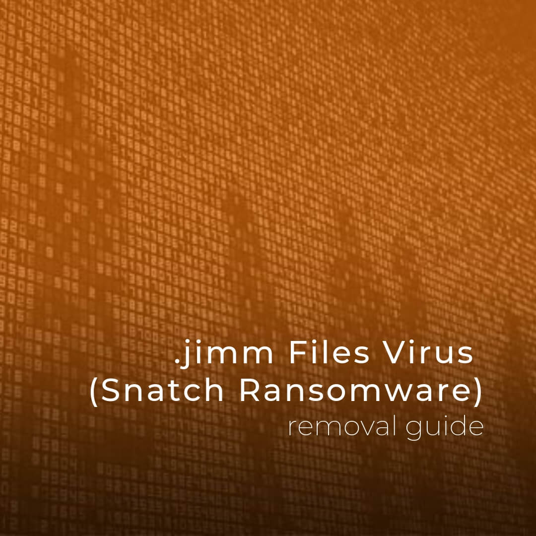 remove jimm files virus sensorstechforum ransomware removal guide