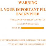._Crypted Ransomware virus remove