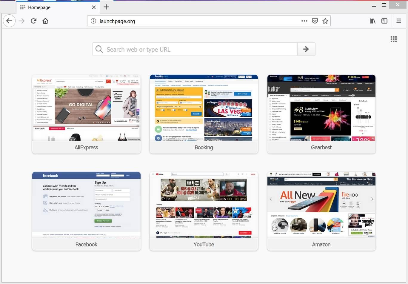 launchpage-org-navegador-secuestrador-engaño-motor de búsqueda