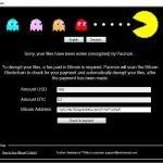 Pacman ransomware virus remove