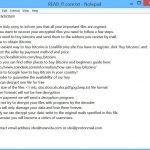 .xlsx@tutanota.com_.core core xorist ransomware