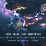 Marozka ransomware virus desktop