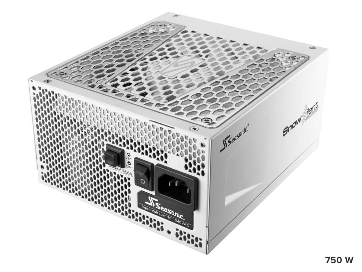 psu Seasonic PRIME Schnee Stille