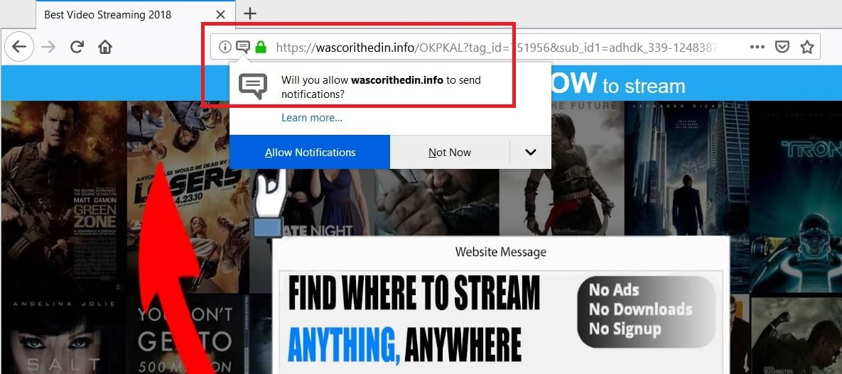 wascorithedin-info-redirect-ads-removal-guide-sensorstechforum