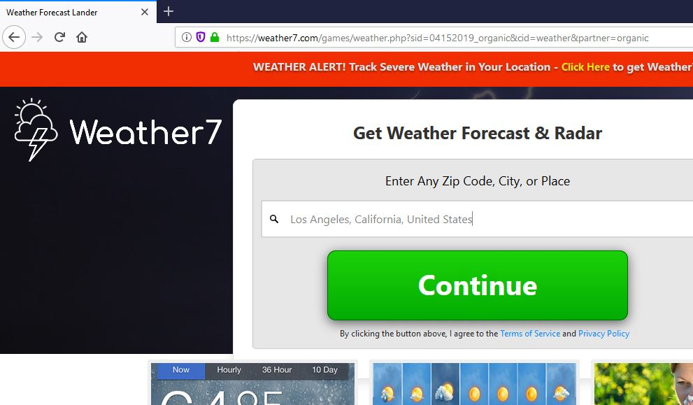 weather7.com redirect image