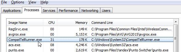 delete compattelrunner.exe windows 10
