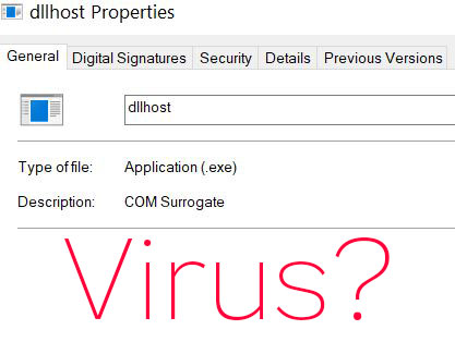 COM Surrogate Process (dllhost exe) – WHAT IS IT + How to